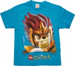 Lego Chima Laval Lion Head Youth T Shirt