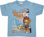 Lego Chima Lion Tribe Juvenile T Shirt
