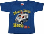 Lego Moms Little Hero Blue Toddler T Shirt