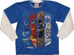 Lego Ninjago Action Bars Long Sleeve Juvenile T Shirt