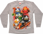 Lego Ninjago Choice Weapon Long Sleeve Youth T Shirt