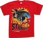 Lego Ninjago Cole Stunts Red Youth T Shirt