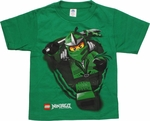 Lego Ninjago Lloyd Run Green Juvenile T Shirt
