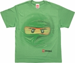 Lego Ninjago Lloyd Swirl Face Youth T Shirt