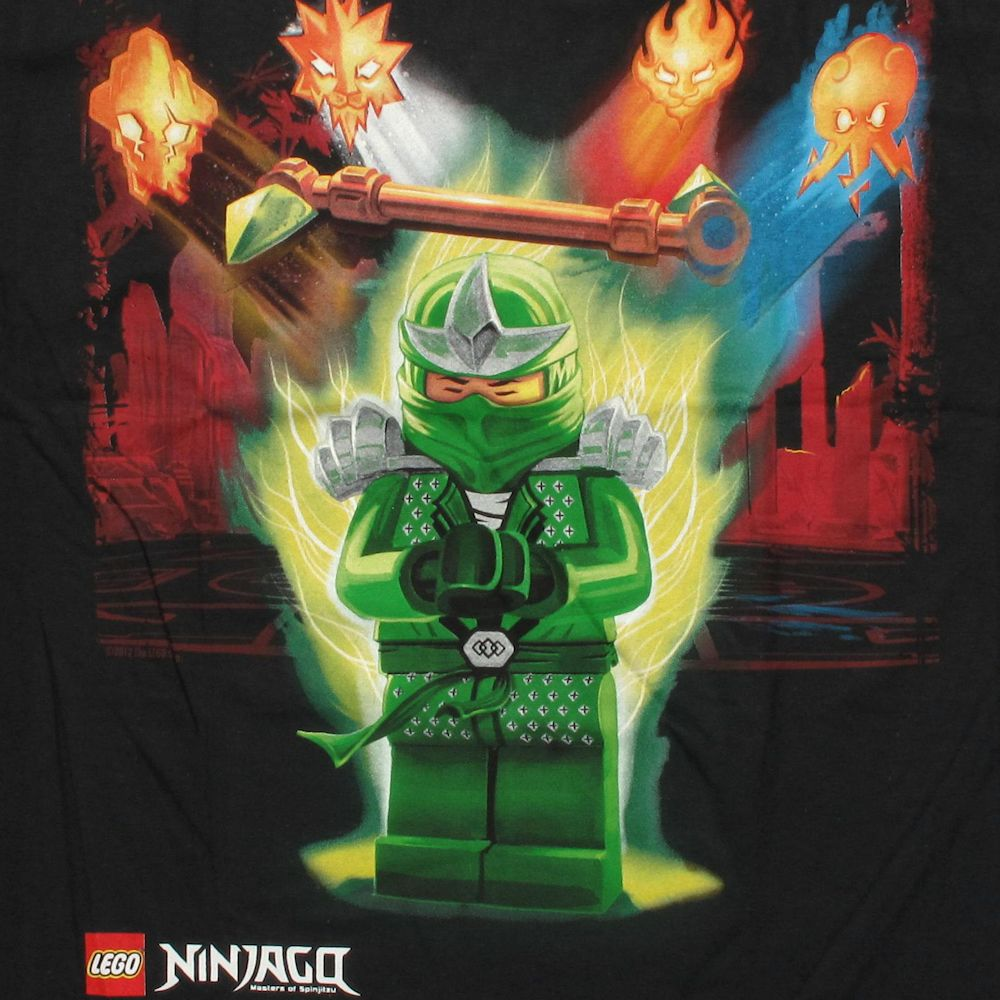 Lego Ninjago Lloyd ZX Super Bolt Youth T ShirtNinjago Rebooted Lloyd