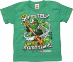 Lego Ninjago up to Something Juvenile T Shirt