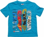 Lego Ninjago Weather Band Blue Toddler T Shirt