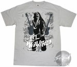 Lil Wayne Dual Guitars T-Shirt