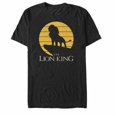 Lion King Simba Rock Shadow T-Shirt