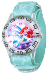 Little Mermaid Ariel Kids Plastic Blue Watch