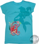Little Mermaid Shadow Youth T-Shirt