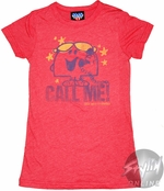 Little Miss Call Me Baby Tee