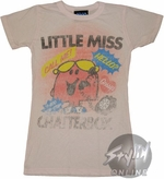 Little Miss Chatterbox Baby Tee