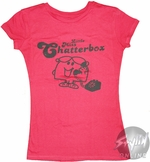 Little Miss Chatterbox Tone Baby Tee