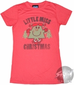 Little Miss Christmas Baby Tee