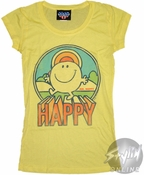 Little Miss Happy Baby Tee