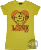 Little Miss Love Baby Tee