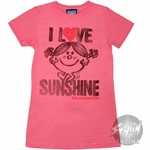 Little Miss Love Sunshine Baby Tee