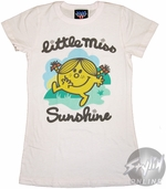 Little Miss Sunshine Atom Baby Tee