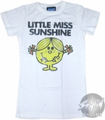 Little Miss Sunshine Basic Baby Tee