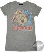 Little Miss Sunshine Vintage Baby Tee