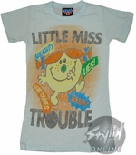 Little Miss Trouble Baby Tee