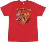 Looney Tunes Logo T Shirt Sheer