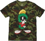 Looney Tunes Marvin Camo T Shirt