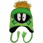 Looney Tunes Marvin Green Lapland Beanie