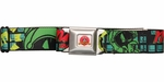 Looney Tunes Marvin Martian Black Seatbelt Belt