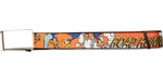 Looney Tunes Road Runner Name and Character Mesh Belt