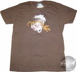 Looney Tunes Taz Cyclone T-Shirt Sheer
