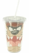 Looney Tunes Taz Face Travel Cup