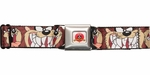 Looney Tunes Taz Faces Seatbelt Belt