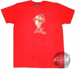 Looney Tunes Tazmanian Devil T-Shirt Sheer