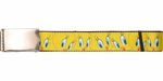 Looney Tunes Tweety Bird Faces Wide Mesh Belt