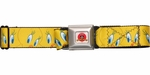 Looney Tunes Tweety Bird Faces Seatbelt Belt