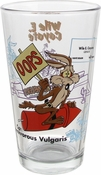 Looney Tunes Wile E Coyote Pint Glass