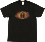 Lord of the Rings Eye of Sauron T Shirt
