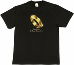 Lord of the Rings One Ring T Shirt