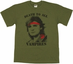 Lost Boys Death Vampires T Shirt