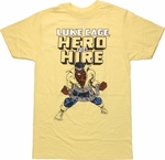 Luke Cage Hero For Hire T Shirt Sheer