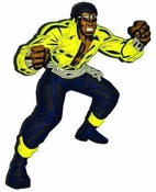 Luke Cage Power Man Mega-Mega Magnet