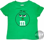 M and M Green Toddler T-Shirt