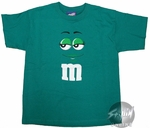 M and M Green Youth T-Shirt