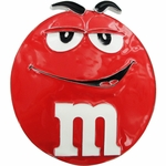 M and M Red Belt Buckle