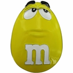 M and M Yellow Belt Buckle