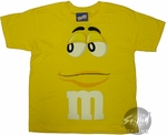 M and M Yellow Youth T-Shirt