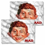Mad Magazine Alfred Head FB Pillow Case
