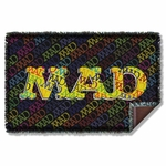 Mad Magazine So Much Mad Throw Blanket